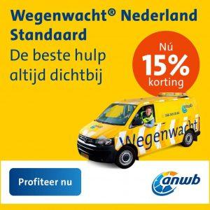 anwb wegenwacht nederland standaard korting